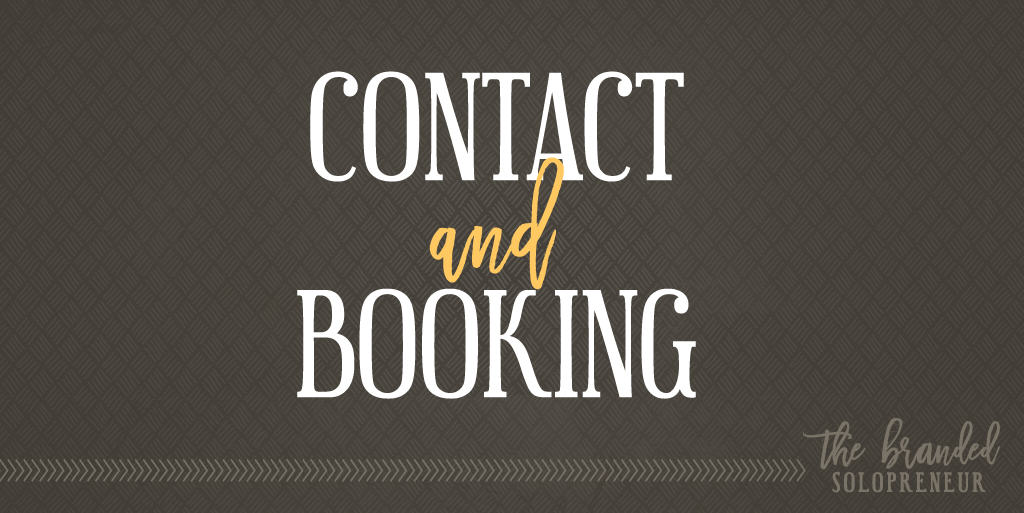 Contact and Booking