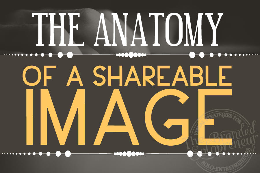 The Anatomy of A Shareable Image