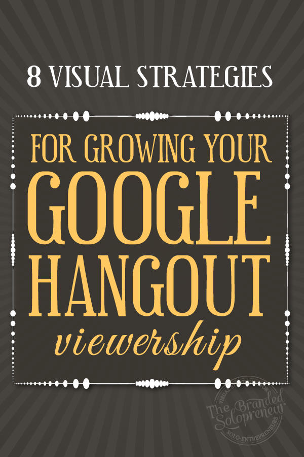8 Google Hangout Strategies For Growing Your Viewership {with tons of examples}