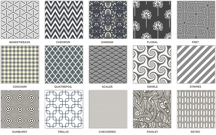 Top 15 Most Popular Seamless Patterns