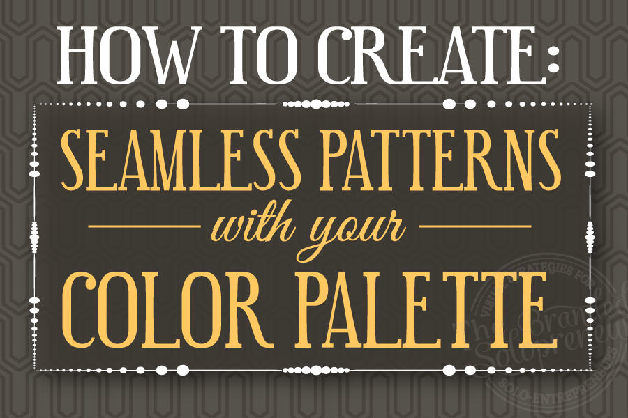 How to Create Seamless Patterns With Your Color Palette