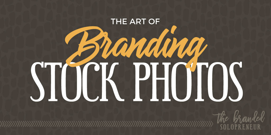 The Art of Branding Stock Photography