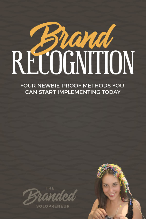 How to Build Brand Recognition (4 Newbie-Proof Methods) | When it comes to your brand you have to stop searching for profit guarantees that don't exist and start focusing on ways to increase your exposure. One of the most valuable ways to do that is by building brand recognition! Here are four newbie-proof methods for establishing + increasing your brand recognition. | Branding design | Branding board | Branding identity | Branding inspiration | Branding ideas | Branding ideas for small business | #Branding ideas marketing | Brand board ideas | Brand board inspiration