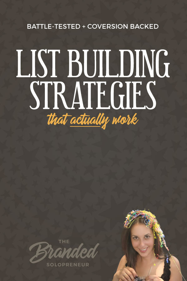 11 Battle-Tested List Building Strategies That Actually Work | Not all list building strategies are created equal, but these here are 11 battle-tested, conversion backed, list building strategies from brands and marketers who have mastered the art of creating freebies that convert and building lists full of buyers. | list building | list building tips | list building strategies | how to build a list of buyers | list building ideas