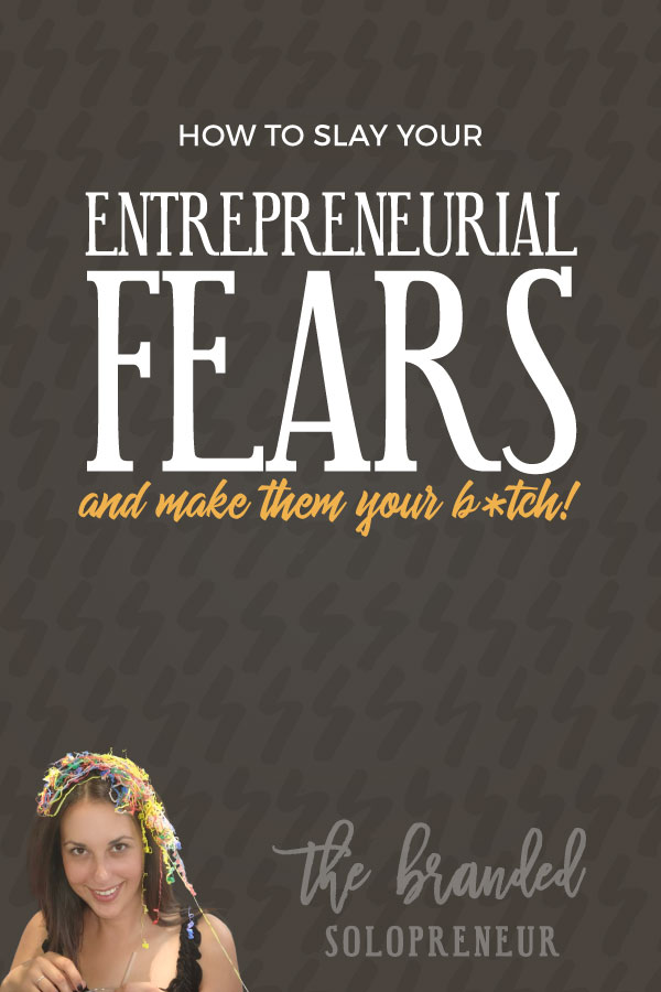 How to Slay Your Entrepreneurial Fears Once and FOR ALL! | A 4-part formula + workbook that'll help you slay the F out of your entrepreneurial fears, so you can operate at peak performance in your business. #entrepreneur #solopreneur #wahm #marketingdigital #smallbusiness