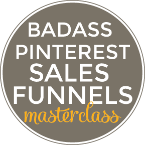 Pinterest Traffic & Sales Masterclass for Solopreneurs
