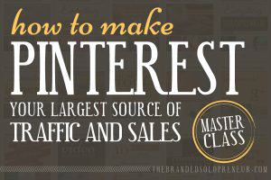 Pinterest Traffic & Sales Masterclass {a bundle of awesome}