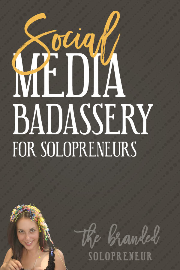 Social Media Tips for Solopreneurs | A collection of social media tips for solopreneurs, including Instagram strategies, Pinterest traffic strategies, content calendar tutorials, and a whole lot more.