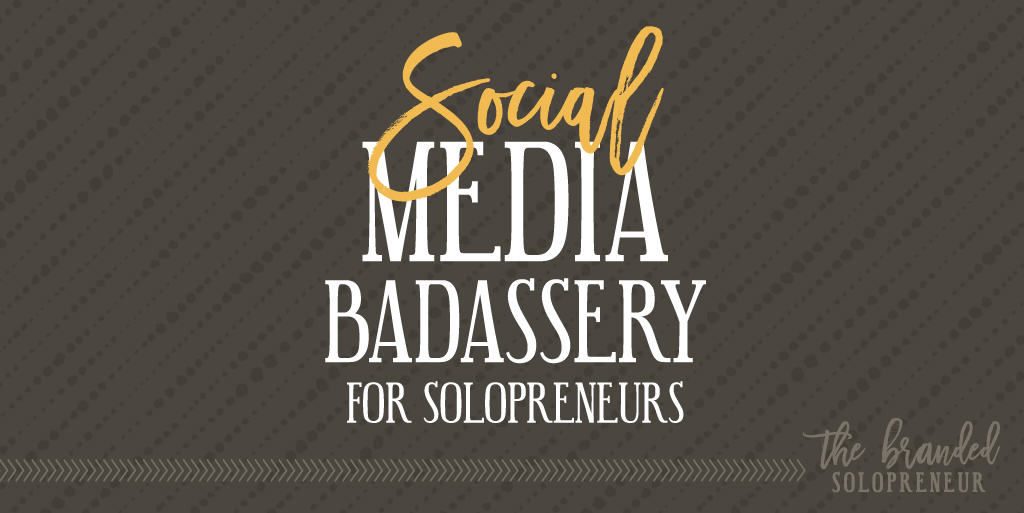 social media tips for solopreneurs