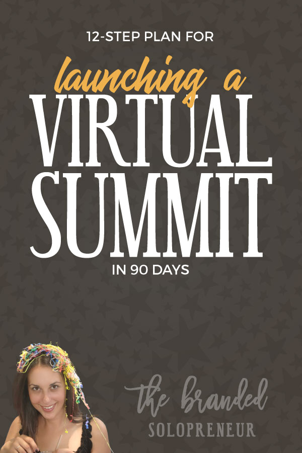 How to Launch a Virtual Summit in 90 Days | This guide breaks down the 12 step process for planning, creating, and launching a virtual summit in 90 days, with a bundle of free resources to take with you, including worksheets + an eBook.