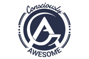 Consciously Awesome Logo Design
