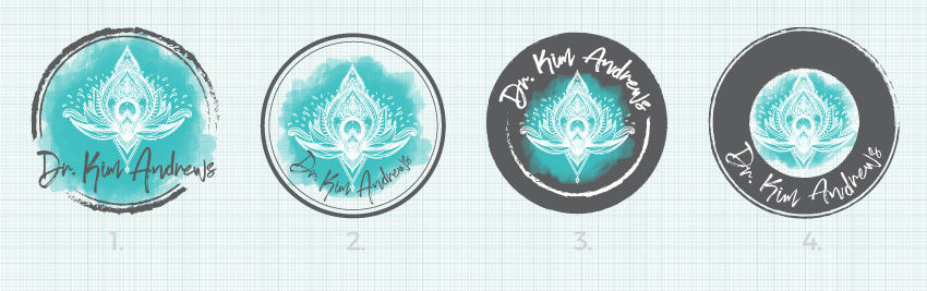 Dr. Kim Andrews Logo Design