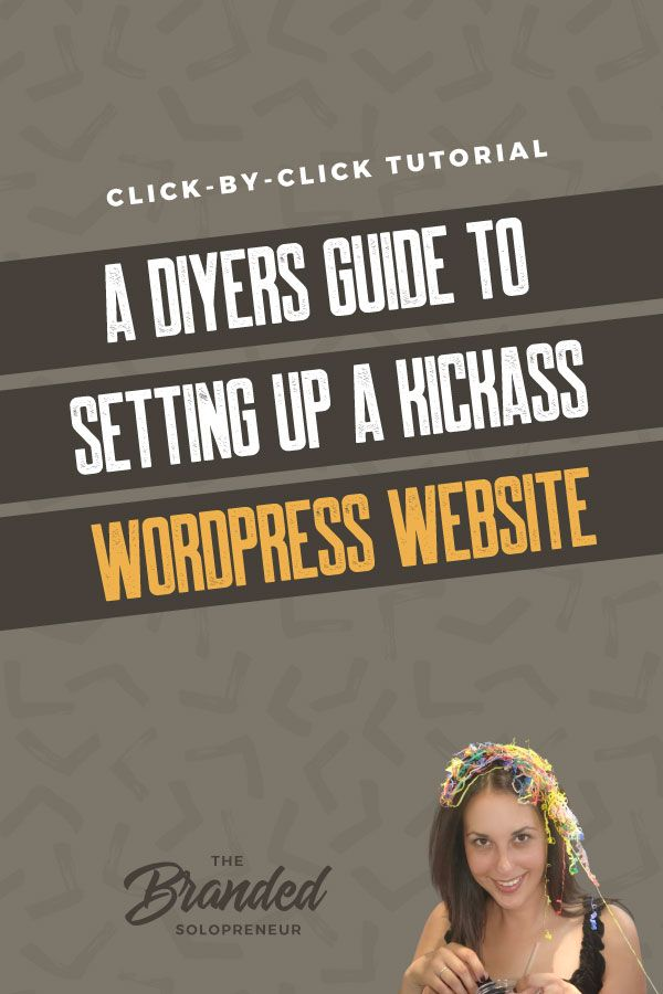 A DIYers Guide to Setting up a WordPress Website | I'm taking you click-by-click and screen-by-screen through setting up your WordPress website from scratch. From domain to launch, and everything in between! Web Design WordPress Business Website | WordPress Design Branding | WordPress Design Tutorial Tips | WordPress Tips Tutorials | #webdesign #wordpress #wordpressdesign #webdesign101 #brandingdesign #branding101 #branding strategy #brandidentity #brandidentitydesign