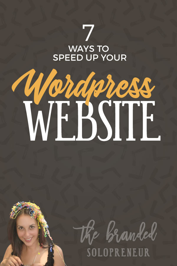 7 Ways to Speed Up Your WordPress Website - Learn the 7 most effective {and easiest} ways to speed up your WordPress website, so it's lightening fast for your visitors.