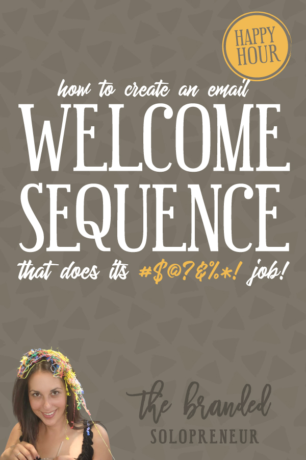 How to Create a Email Welcome Series That Does its #$@?&%*! Job   {Free Training} Learn how to create an email welcome series that transforms your readers into raving fans who salivate over your emails and offers.