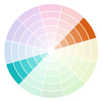 A Complementary Color Palette Features Colors Directly Across From One Another On The Wheel