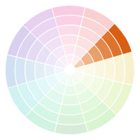 Color Palettes That Are Shades Darker Or Tints Lighter Of One On The Wheel Monochromatic