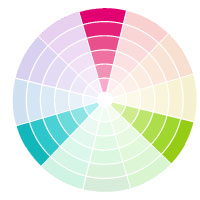 Triad Color Palettes Feature Three Colors That Are Equal Distant From Each Other On The Wheel