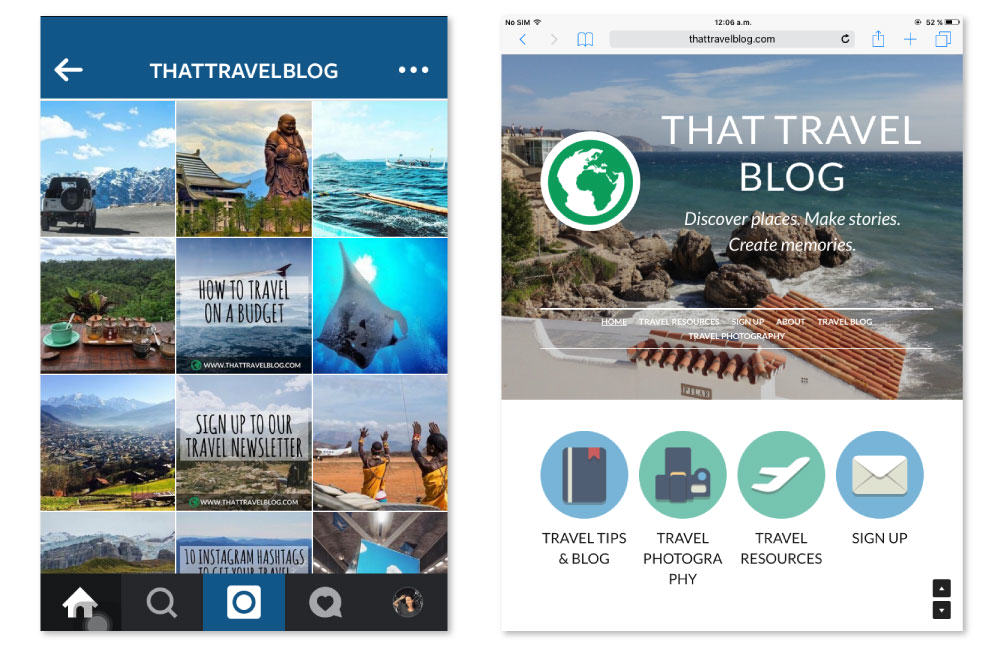 Using Instagram to Promote Your Blog